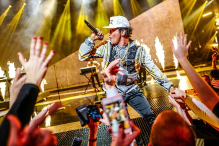 Bruno Mars a fait groover