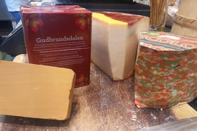 Assortiment de fromages israéliens