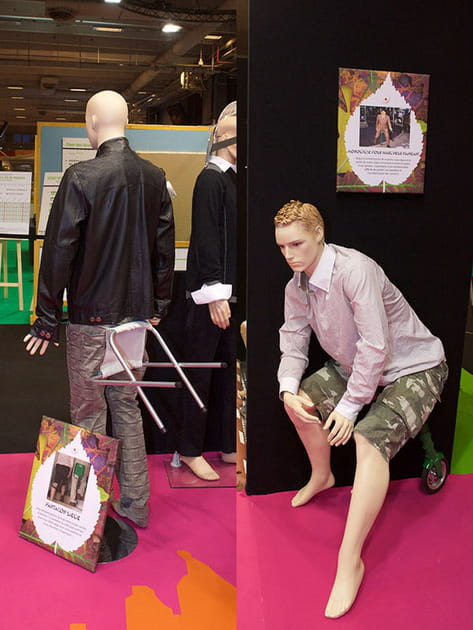 Le pantalon-siège et le pantalon-roue