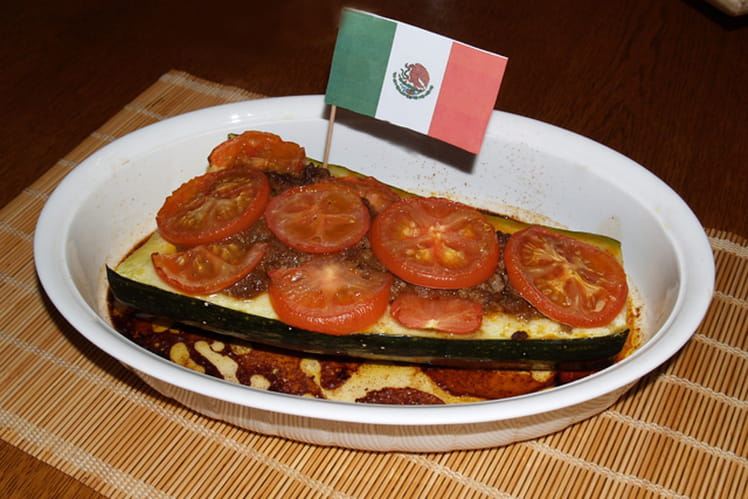 Courgettes à la mexicaine