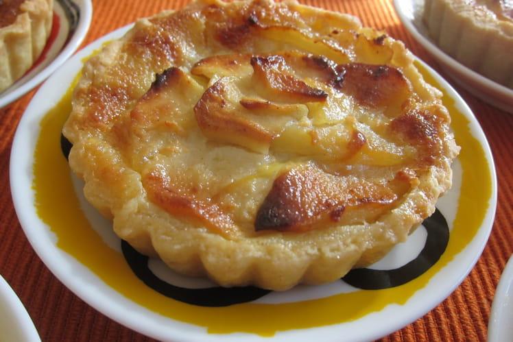 Tartelettes aux pommes et à la cardamome