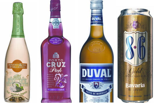 Boissons alcoolisées-Saveurs de l'Année 2011