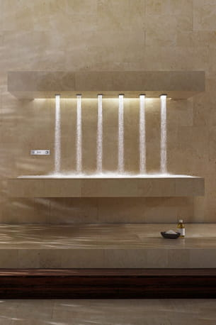 douche horizontal shower de dornbracht