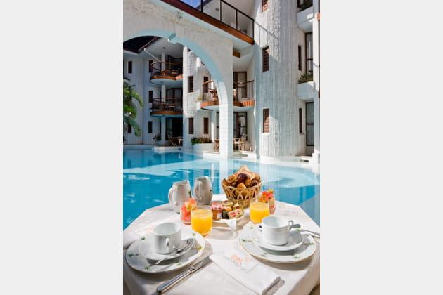 Le petit-déjeuner au Saint-Alexis