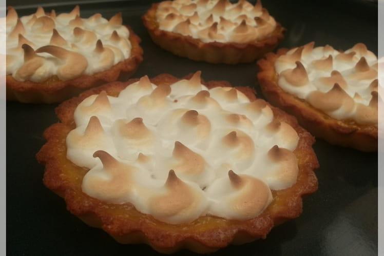 Tartelettes au lemon curd meringuées