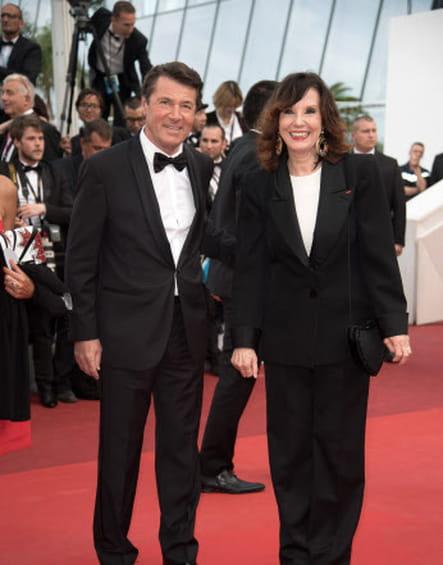 Christian Estrosi et Denise Fabre, de l'hôtel de ville au Palais des Festivals