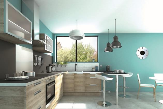 cuisine cargo de brico dep t. Black Bedroom Furniture Sets. Home Design Ideas