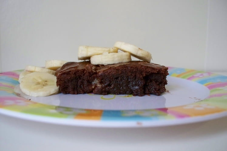 Brownie light à la banane