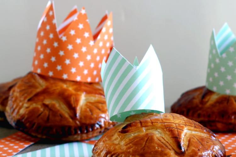 Galettes des rois individuelles crème de Pistache et Abricot