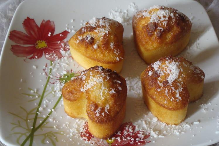 Muffins à la noix de coco râpée