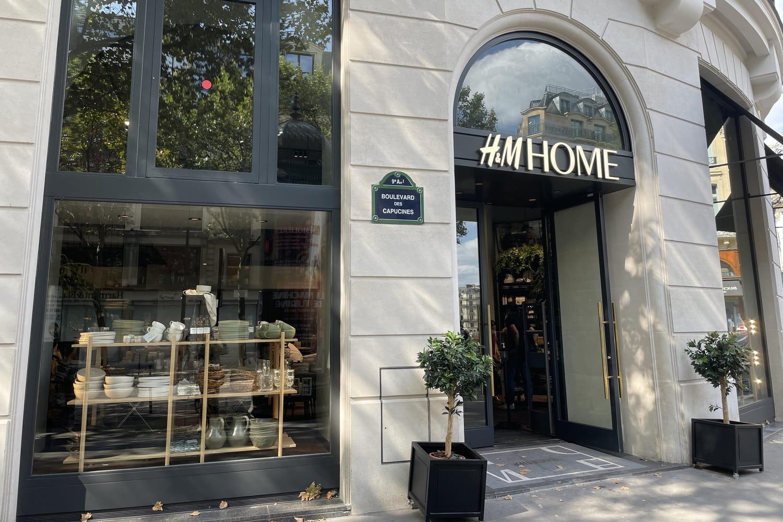 H&M Home ouvre son premier concept store déco à Paris!
