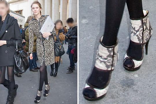 Fashion week : les street looks des défilés parisiens PAP automne-hiver 2011-2012 12