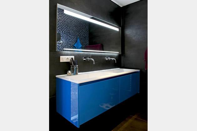 Bain de bleu