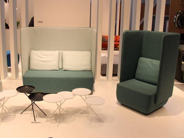Canapé et fauteuil Opera de Softline