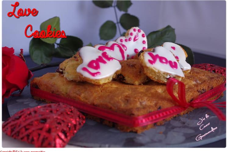 Cookies cerise, chocolat blanc, citron, gingembre