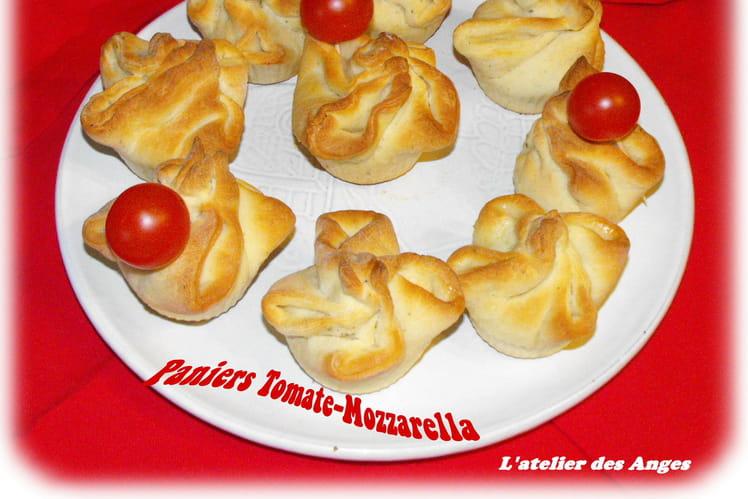 Paniers tomate-mozzarella