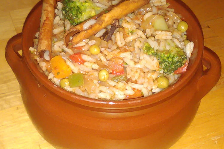 Biryani de légumes
