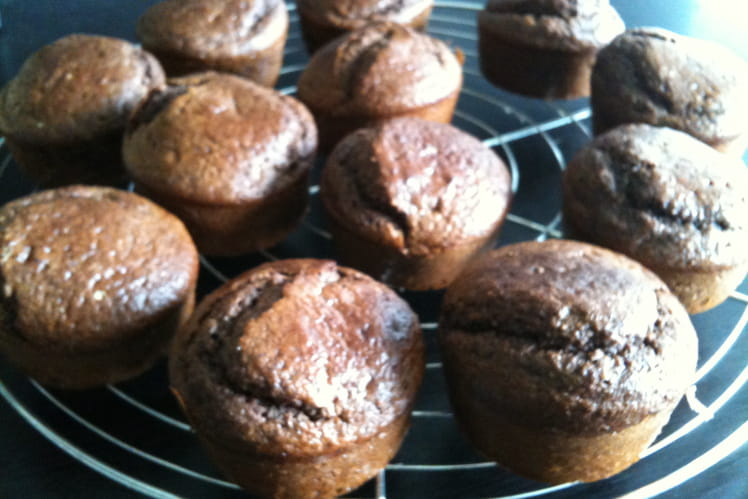 Moelleux chocolat coeur croustillant