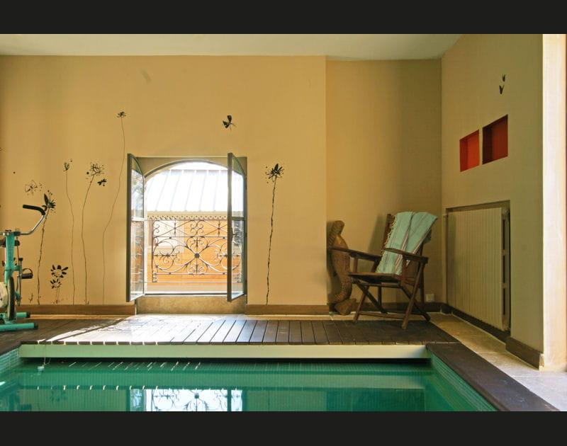 Bien-être à la piscine