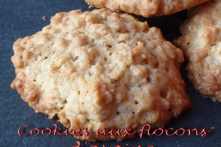 Cookies aux flocons d'avoine natures