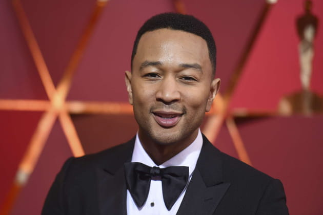 John Legend, présent à la Women's March