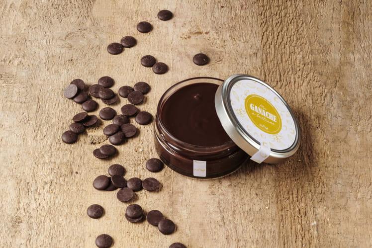 Pâte à tartiner chocolat & noisettes de Guy Krenzer