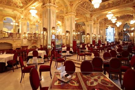 Les plus beaux hôtels de Budapest : le restaurant du Boscolo