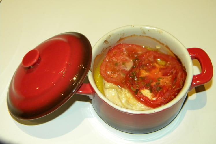 Poulet au chèvre et aux tomates