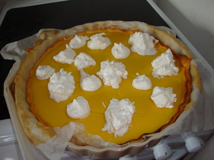 Recette de tarte au citron sans beurre ni cr me - Tarte au citron facile et rapide ...