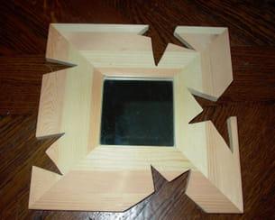 un vrai miroir de star. Black Bedroom Furniture Sets. Home Design Ideas