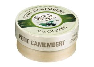camembert à l'olive.