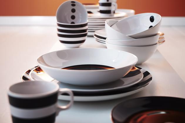 Assiette creuse Tickar par Maria Vinka pour IKEA