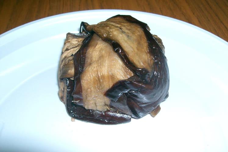 Terrine d'aubergines au thon