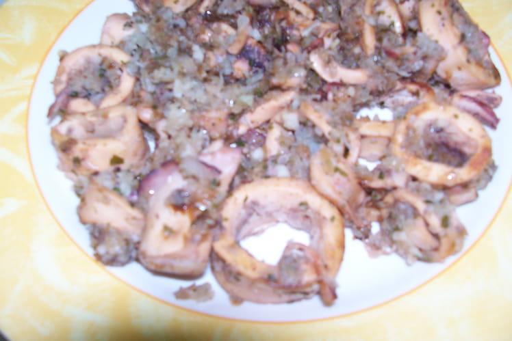 Calamars à la bretonne