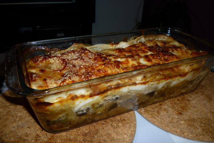 Lasagnes de légumes et chèvre