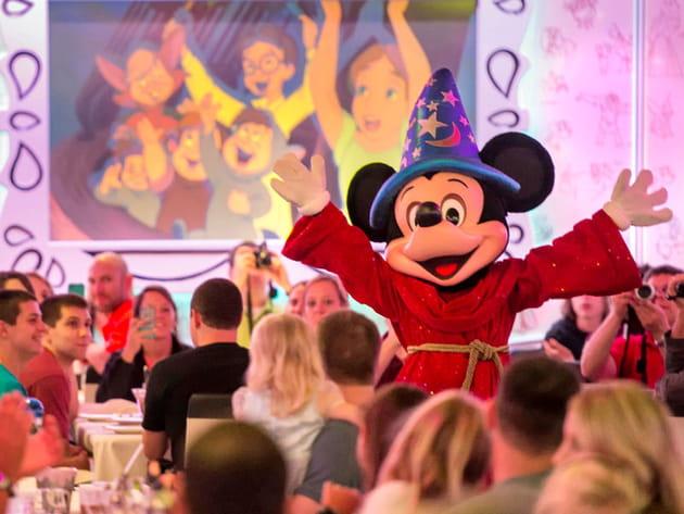 Restaurant bâteau Disney Magic