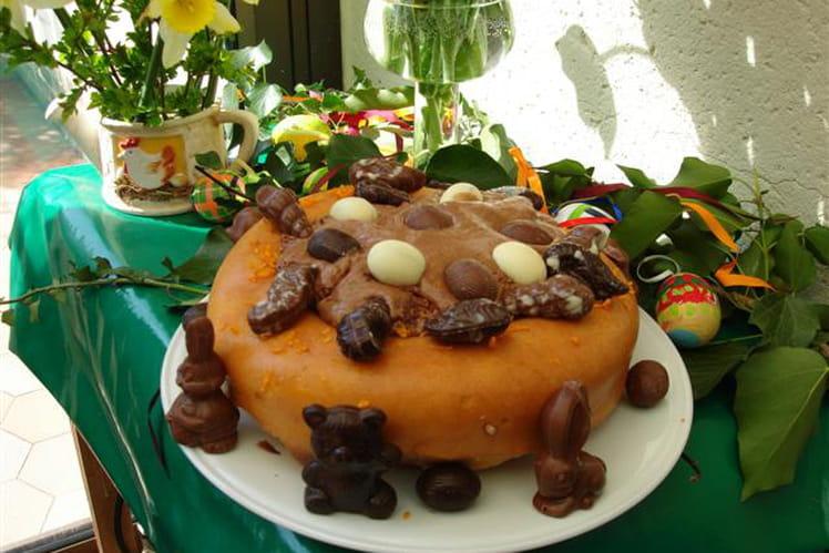 Baba de Pâques orange-chocolat