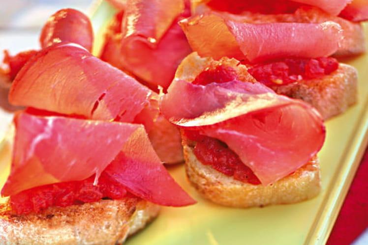 Pan con Tomate à la catalane
