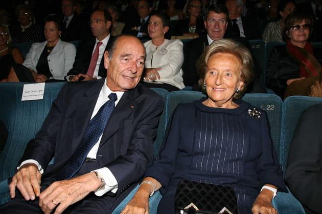 Jacques Chirac et Bernadette Chirac en 2004