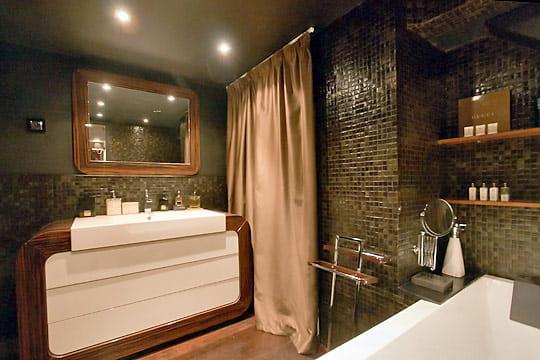 comme dans un htel de luxe originalit de cette salle de bains - Salle De Bain Hotel Luxe