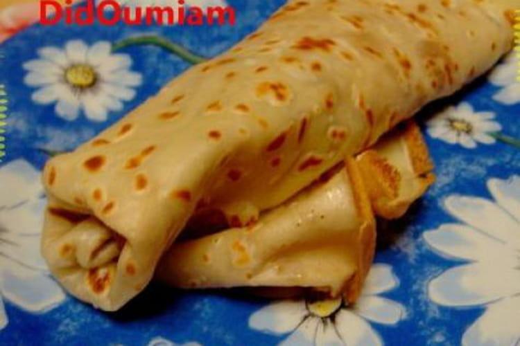 Pâte à crêpes inratable sans balance