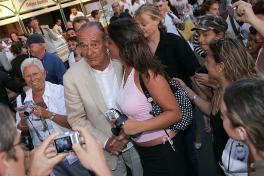 Jacques Chirac, très populaire