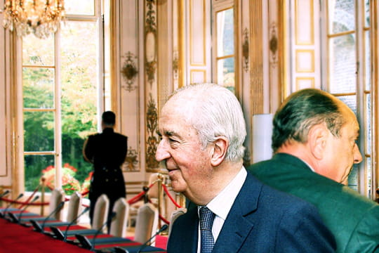 Jacques Chirac et Edouard Balladur
