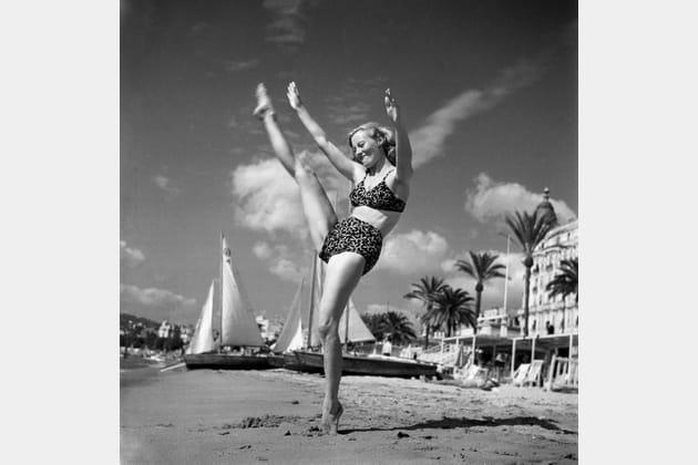 Nymphette sur la Croisette, 1946
