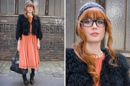Fashion week : les street looks des défilés parisiens PAP automne-hiver 2011-2012 7
