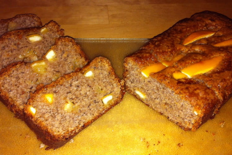 Cake au yaourt et agrumes confits