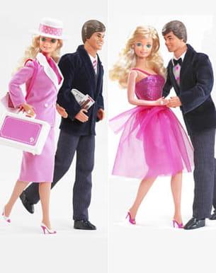 ken et barbie en 1985