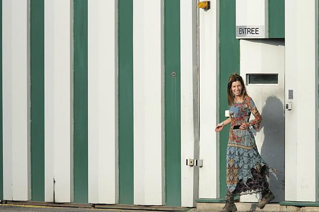 Krisztina Rady se rend au centre de détention