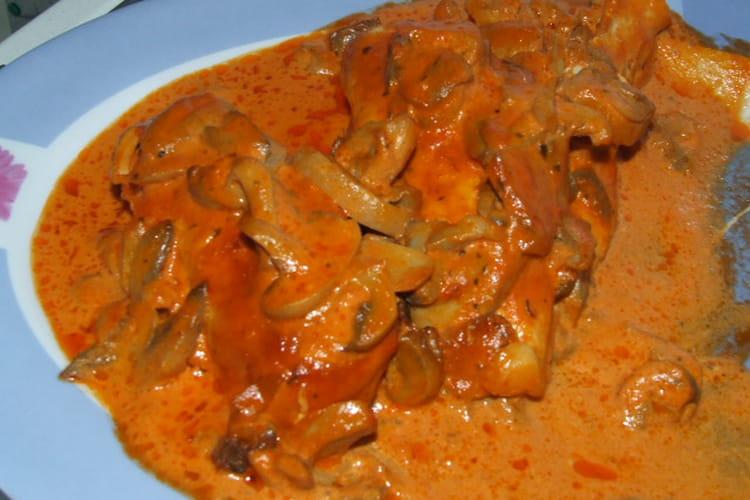 Filet de poulet au Porto