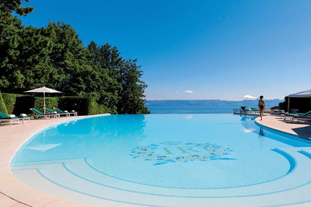 L'Hôtel Royal Evian Resort à Évian-les-Bains en Rhône-Alpes